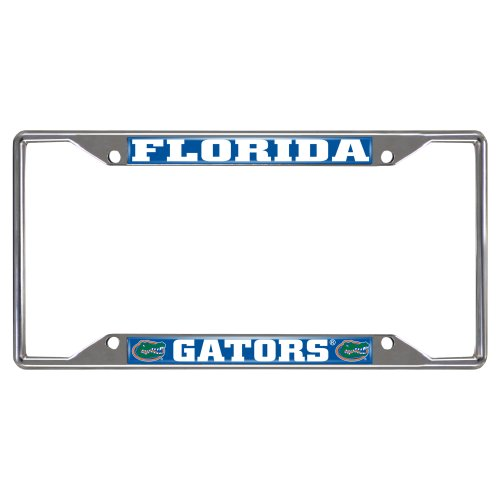 FANMATS NCAA University of Florida Gators Chrome License Plate Frame (Farm License Plate Frame compare prices)