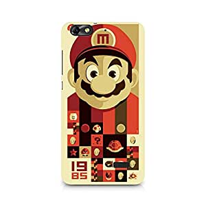 Ebby Mario Premium Printed Case For Huawei Honor 4C