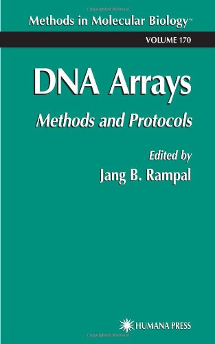 DNA Arrays Methods and Protocols Methods in Molecular Biology089608129X