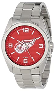 Game Time Unisex NHL-ELI-DET Elite Detroit Red Wings 3-Hand Analog Watch by Game Time