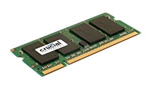 Crucial CT51264AC800 Mémoire RAM 4 Go DDR2 800 MHz (PC2-6400) CL6 SODIMM 200pin