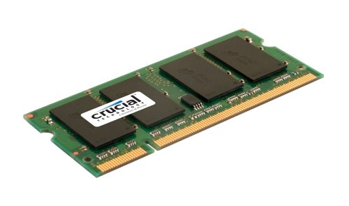 Crucial CT51264AC667 4GB 200-pin SODIMM DDR2 PC2-5300 Memory Module