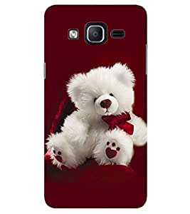 Evaluze teddy Printed Back Cover for SAMSUNG GALAXY ON7 PRO 2016