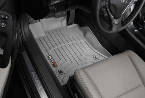 Black W53 WeatherTech Trim to Fit Front Rubber Mats for Select Volkswagen Models