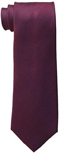 Tommy-Hilfiger-Mens-Grenandine-Solid-Tie