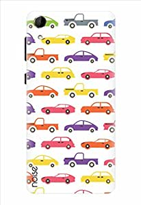 Noise Multiple Cars Printed Cover for HTC Desire 728G Dual Sim
