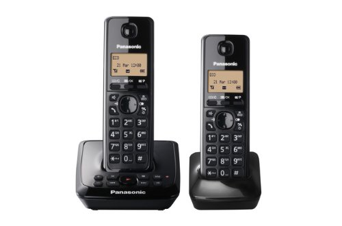 Panasonic KX-TG2722EB Twin DECT Cordless Telephone Set with Answer Machine image