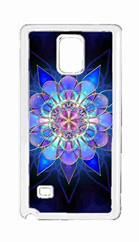SHUSHUTOU flower of life Snap-on Hard Back Case Cover Shell for Samsung Galaxy Note 4 -1283