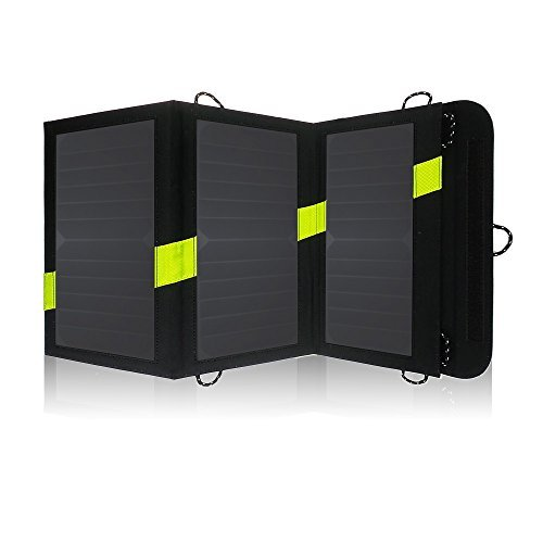 X-DRAGON High Efficency 20W Solar Panel Charger with iSolar Technology for iPhone, ipad, iPods, Samsung, Android Smartphones and More(iSolar Technol