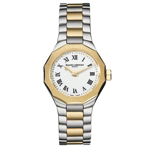 Baume & Mercier Women's 8524 Riviera Mini Two-Tone Watch