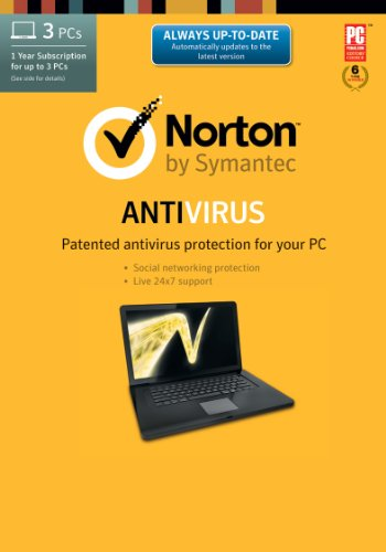 Norton Antivirus 2014 - 1 User / 3 Licenses [Download]