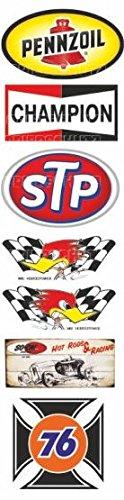 436-set-stp-pennzoil-aufkleber-sticker-usw