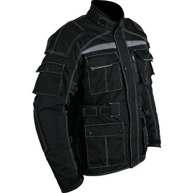 veste moto lourde duty noir motard blouson en cordura motorcycle jacket sport automobile vestes. Black Bedroom Furniture Sets. Home Design Ideas