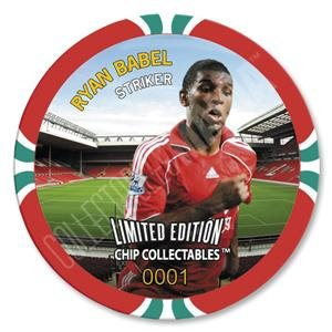 Liverpool Babel Poker Chip