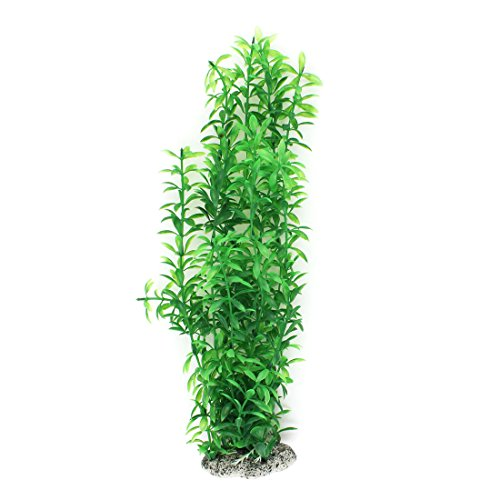 Uxcell fish tank decoration artificial water plant 14 2 for Artificial pond plants sale