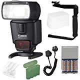 Canon Speedlite 430EX II Flash + Deluxe Accessory Kit