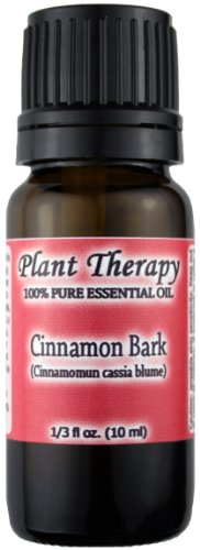 Plant Therapy Essential Oils Cinnamon Bark Essential Oil. 10 ml. 100% Pure, Undiluted, Therapeutic Grade.