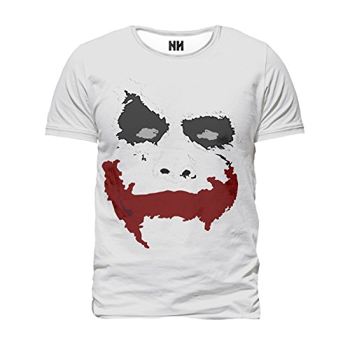 JOKER SMILE - T-Shirt Man Uomo - Serie TV Gotham Batman Robin Harley Quinn Suicide Squad Film