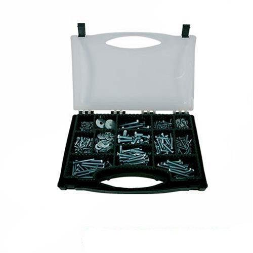 Silverline 633641 Machine and Set Screws Pack 580-Piece