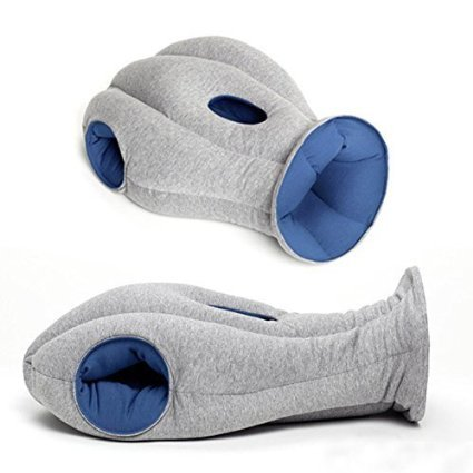Ostrich Pillow Easy Sleep Protection Perfect for Portable Travel and Naps, Nice Soft Material