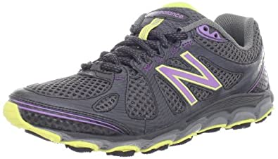 New Balance Women's WT810v2 Trail Shoe,Purple/Yellow,5 D US