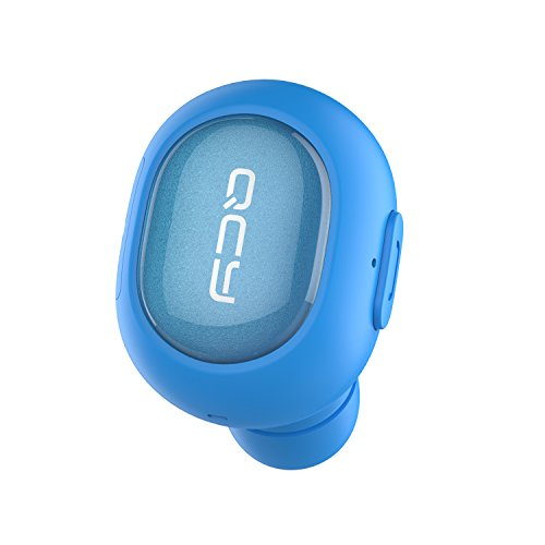 Click to buy [Mini Bluetooth Earbud] QCY Q26 Wireless Invisible headphones With Mic, Hands-free Stereo noise canceling for Apple iPhone 6, 6 Plus, 5S, 5c, 5, 4S, 4 and Android Smart Phones - Blue - From only $13.99