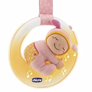 Chicco 71761 - Luna musical con luz, color rosa marca Chicco