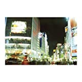 Tokyo, Japan (Shibuya Night Scene) Art Poster PRint
