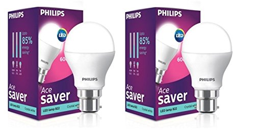 Philips-7-W-B22-LED-Bulb-(Cool-Day-Light,-Pack-of-2)