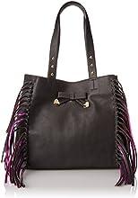 Betsey Johnson Women's Tote Bag (Black) (BJ49815)