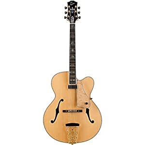 gibson custom shop hsctnagh1 citation hollow body electric guitar natural musical. Black Bedroom Furniture Sets. Home Design Ideas