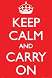 Keep Calm and Carry On Poster Print, 24x36