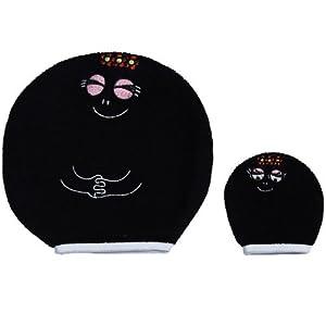 Babycalin / Barbapapa - BPP304303 - guante para el baño - 18,5 x 19 cm - Negro 2 por babyCalin