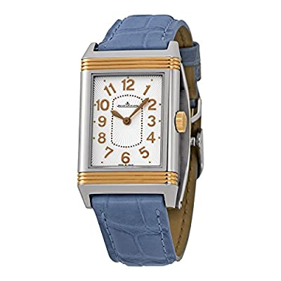 Jaeger LeCoultre Reverso Ultra Thin Steel and 18K Rose Gold Ladies Watch Q3204420-BL