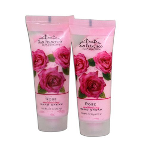 san-francisco-soap-co-rose-hand-cream-two-15-ounce-tubes-by-san-francisco-soap-company