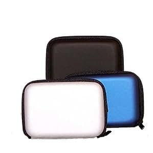 étui housse pour les appareils photo Samsung ST67,DV90, Panasonic SZ3 SZ5 FS50, Nikon L27 S2700, Sony Olympus Fuji Pentax et d'autres appareils photos numériques compacts (de couleur noir).