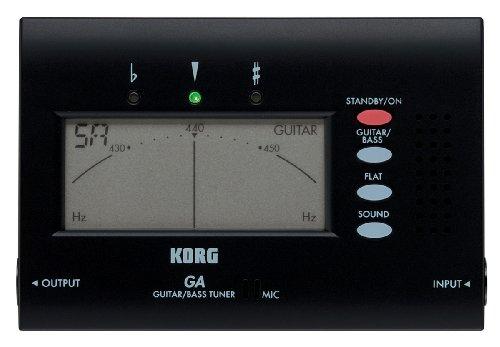 Korg GA-40 Large Display Guitar and Bass Tuner