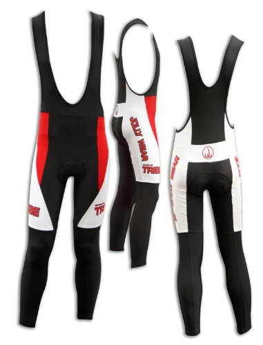 Image of JOLLYWEAR Cycling Thermal Bib Tights (JW BLACK collection) (B002Z8LC84)