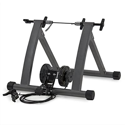 Best Choice Products® New Indoor Exercise Bike Bicycle Trainer Stand W/ 5 Levels of Resistance