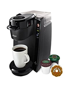 Oster Single Serve Coffee Brewer for Keurig K-cups, Black