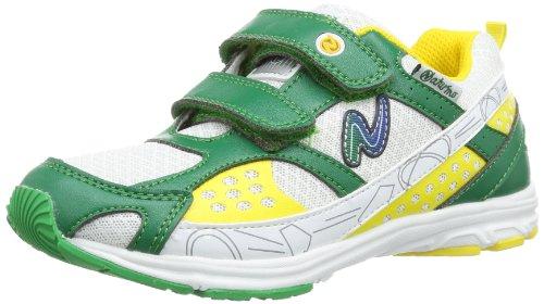 Naturino SPORT 416 001200779801, Scarpe morbide da tennis Bambino, Verde (Grün (Verde 9103)), 38