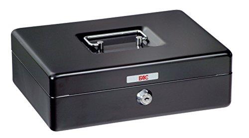 FAC 17003 - Cassetta di sicurezza, numero 0, colore nero