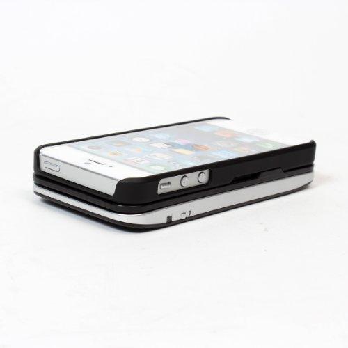 着脱&自立機能搭載iPhone5用キーボードカバー:ATSTKCF5