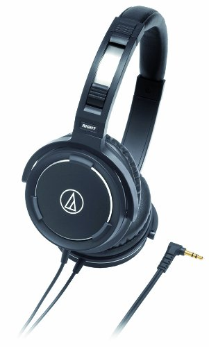 Audio Technica Aud Athws55Bk Solid Bass Audio Headphones
