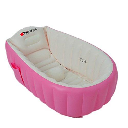 intime-inflable-bebe-banera-ducha-del-bebe-ninos-de-hidromasaje-para-0-3-anos-rosa