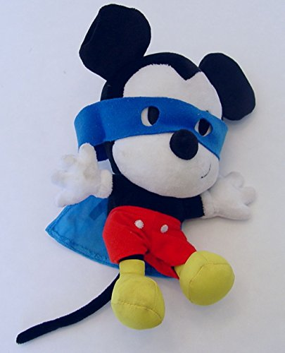 Hallmark Mickey Mouse Super Hero Cape & Mask 9 Inch Plush Disney - 1