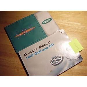 1997 VW Volkswagen Golf Owners Manual: Volkswagen: Amazon.com: Books