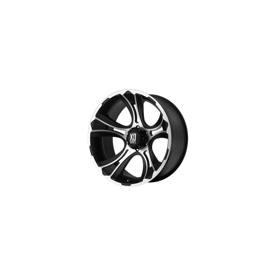 XD XD801 17x9 Machined Black Wheel / Rim 5x5.5 with a 0mm Offset and a 108.00 Hub Bore. Partnumber XD80179055500