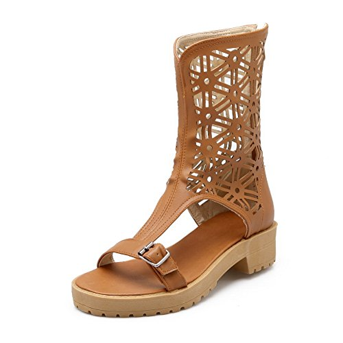 adee-ladies-dance-character-zip-brown-polyurethane-sandals-35-uk