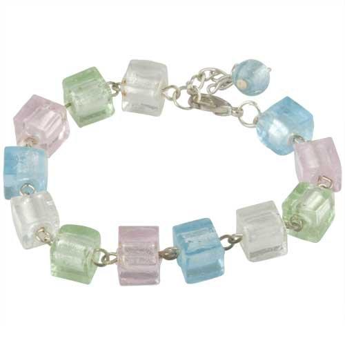 Pugster Dangle Sack Crystal Bracelet Charm